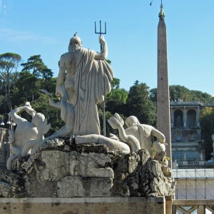 The Med cruise 2010 - Rome, Piazza Del Popolo