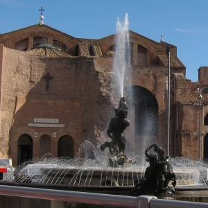 The Med cruise 2010 - Fountain in Rome