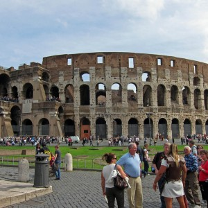 The Med cruise 2010 - Rome, Colosseum