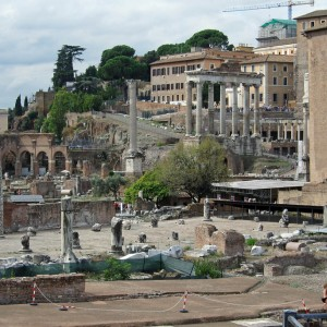 The Med cruise 2010 - Rome, Forum Romanum