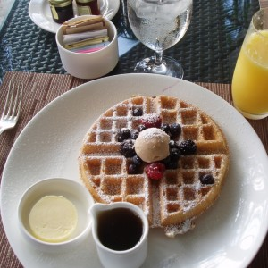Breakfast at the Ritz Carlton FLL