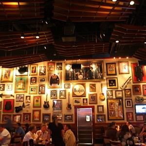 Hard Rock Cafe Hollywood, Florida.
