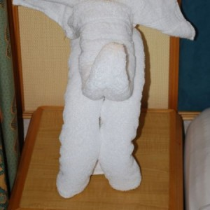 Towel Animal Elephant On The Mariner Ots