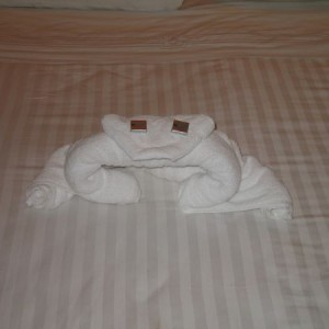 Towel Animal Frog