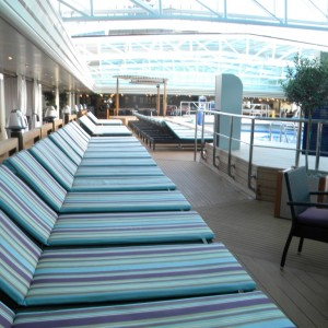 Nieuw Amsterdam Lido Pool Area