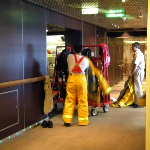 Nieuw Amsterdam Firemen Prepping