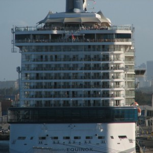 Einstein: Celebrity Equinox Aft Balconies