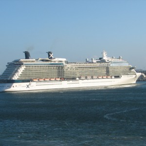 Einstein: Celebrity Equinox sailing out of FLL