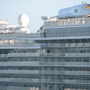 Einstein: Celebrity Equinox Balconies and Port Everglades.com Banner