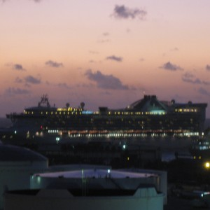 Einstein: Grand Princess at Sunrise in FLL