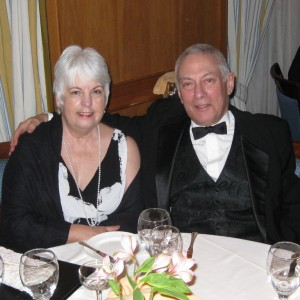 Einstein: first formal night. Linda & Al