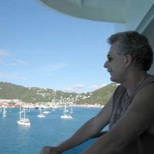 Einstein: St Thomas.   sailing away