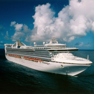 Grand Princess at Sea