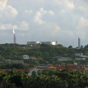 Oil Refineries on Curacao