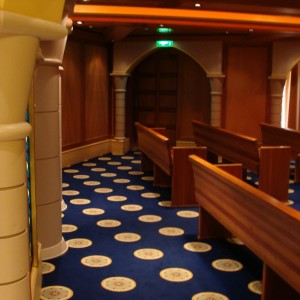 The Chapel - Deck 3 Fwd.