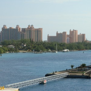 Looking over towards the Atlantis