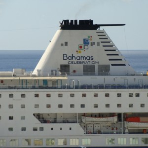 Bahamas Celebration docked in Freeport