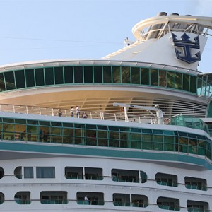 Funnel of Voyager of the Seas