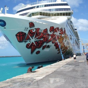 Ncl Gem Docked In Barbados