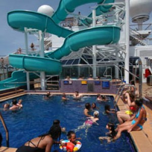 Carnival Glory Waterslide