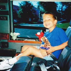 Kevin in the Limo Van