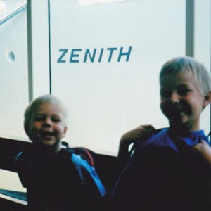 Waiting to board the Zenith