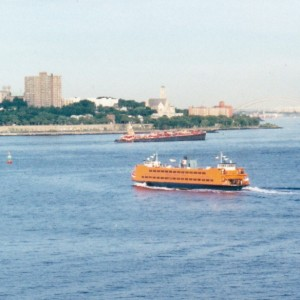 Back in NYC - The Staten Island Ferry