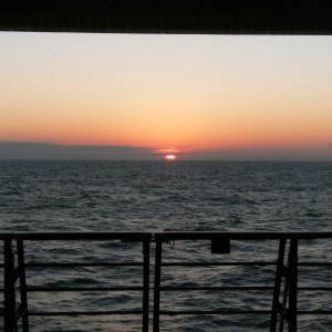 Sunset at Sea