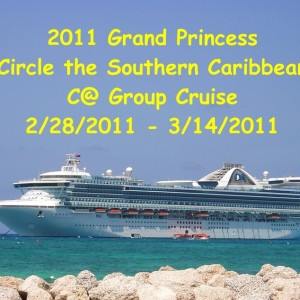 2011 Grand Princess Circle the Southern Caribbean Folder Cover Photo
