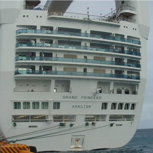 Aft Balconies on the Grand Princess