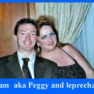 Glam aka Peggy & the leprechaun