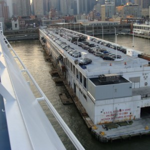 Pulling into Pier 90