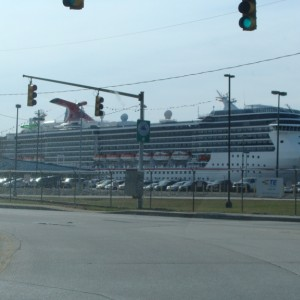 Carnival Pride docked in Baltimore