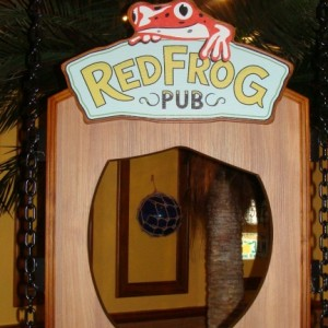 Red Frog Pub - photo op