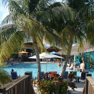 Margaritaville pool bar view