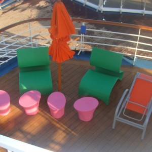 Splash Park seating