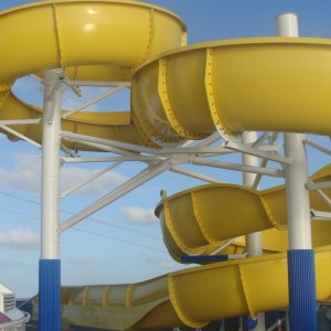 Water Works - The Twister slide