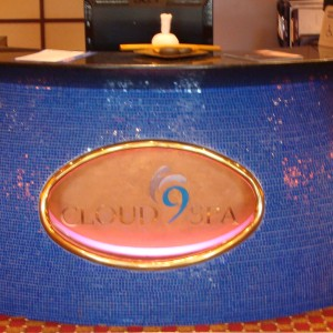 Cloud 9 Spa - Upper level desk