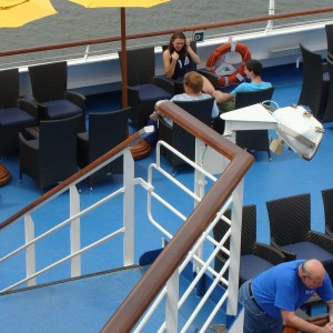 Smoking section - Deck 10 aft starboard side