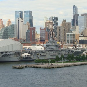 Last look at the Intrepid Museum