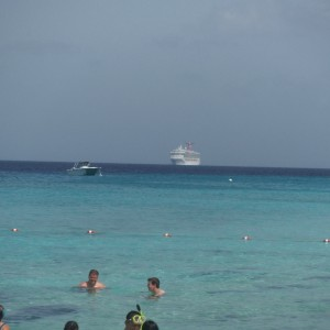 Carnival Glory approaches Grand Turk