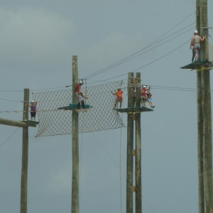 Zipline at the Grand Turk Lighthouse