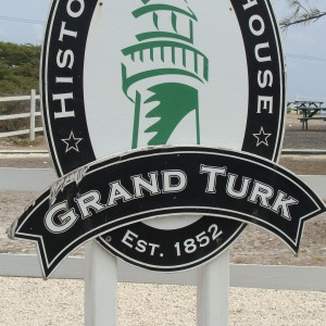 Grand Turk Lighthouse sign