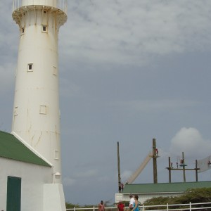 Lighthouse and zip line