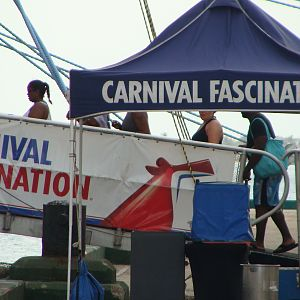 Carnival Fascination gangway
