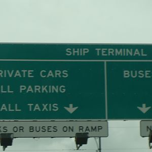 Terminal signs