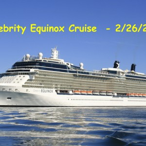 Celebrity Equinox Group Cruise
