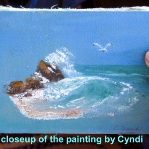 gift by Cyndi.