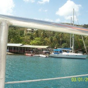 Jan's  photo.  St. Lucia