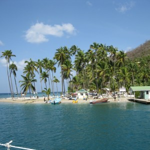our  photo.  St. Lucia & Marigot Bay